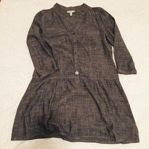 ANTHROPOLOGIE LARK & WOLFF CHAMBRAY DRESS